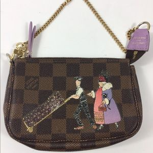 Rare crossbody louis vuitton zipper pouch